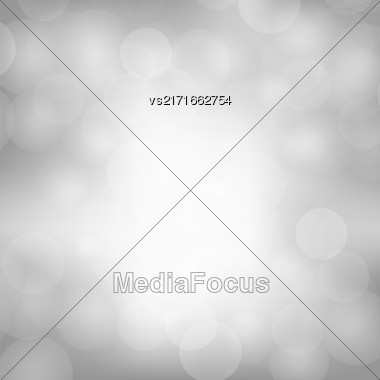 Grey Blurred Light Background. Abstract Flare Pattern Stock Photo