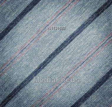 Grey Fabric Texture With Diagonal Stripes Stock Photo