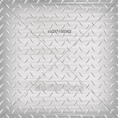Grey Iron Background. Grey Shine Metal Pattern Stock Photo