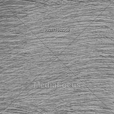 Grey Strokes Drawn Background. Abstract Careless Pattern Stock Photo
