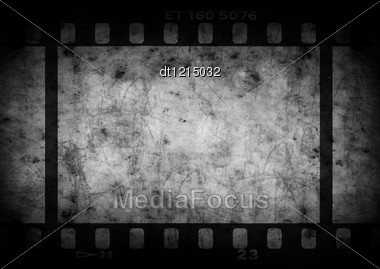 Grunge Background With Copy Space For Your Design. Real Vintage Film Texture Used Stock Photo