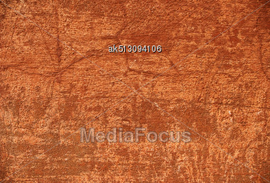 Grunge Background Of Brown Wall Stock Photo