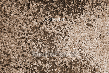Grunge Cement Background With Paint Stock Photo