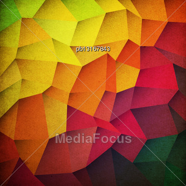 Grunge Colorful Patches Background Stock Photo