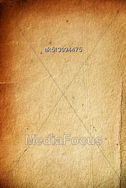 Grunge Old Paper Like Papyrus Stock Photo