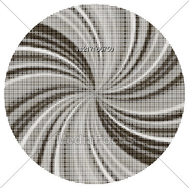 Halftone Pattern. Halftone Dots. Dots On White Background. Circle Halftone Texture. Halftone Dots. Halftone Effect Stock Photo
