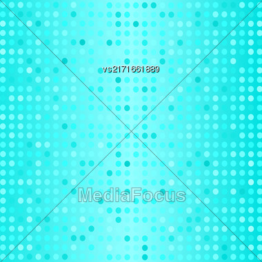 Halftone Pattern. Set Of Halftone Dots. Dots On Azure Background. Halftone Texture. Halftone Dots. Halftone Effect Stock Photo