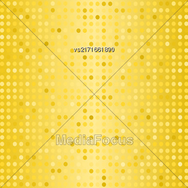Halftone Pattern. Set Of Halftone Dots. Dots On Yellow Background. Halftone Texture. Halftone Dots. Halftone Effect Stock Photo