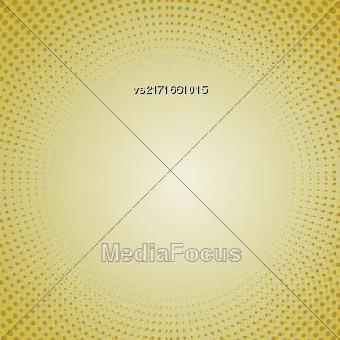Halftone Patterns. Set Of Halftone Dots. Dots On Orange Background. Halftone Texture. Halftone Dots. Halftone Effect Stock Photo