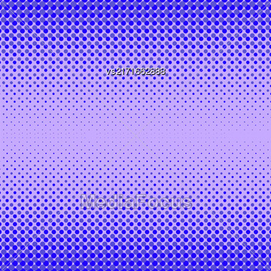Halftone Patterns. Set Of Halftone Dots. Dots On Blue Background. Halftone Texture. Halftone Dots. Halftone Effect Stock Photo