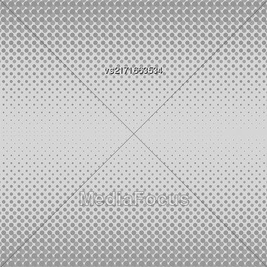 Halftone Patterns. Set Of Halftone Dots. Dots On Grey Background. Halftone Texture. Halftone Dots. Halftone Effect Stock Photo