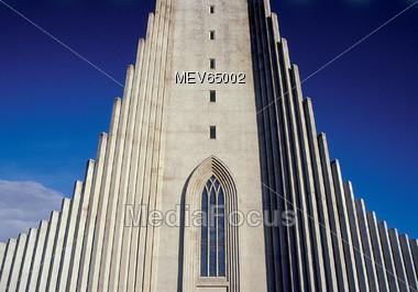 Hallgrims Church in Reykjavik Iceland Stock Photo