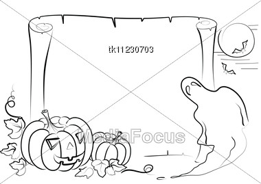 Halloween Elements For Design On White - Image TK11230703 - Halloween