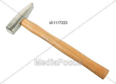 Hammer. New Condition. Close-up Stock Photo