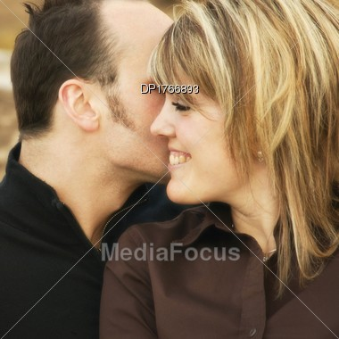 A Happy Couple Stock Photo