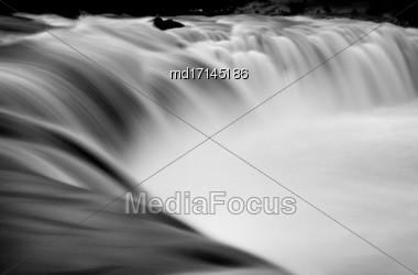 Haruru Falls New Zealand Bay Of Islands Stock Photo