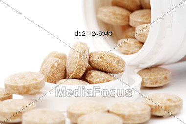 Heap Of Pills Stock Photo