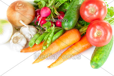 Heap Of Vegetables Stock Photo