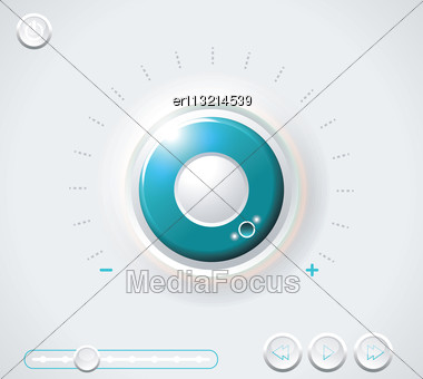Heavy Duty Safe Dial With Clipping Path Stock Photo