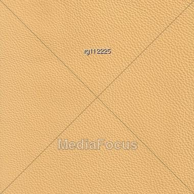 High Resolution Beige Leather Stock Photo