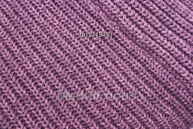Homemade Knitwear As A Background. Stock Photo