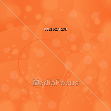 Hot Summer Sun Background. Orange Natural Sky Pattern Stock Photo