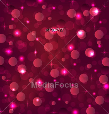 Abstract Background With Bokeh Effect Stock Photo