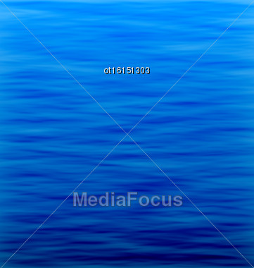 Illustration Abstract Underwater Background. Water Waves Effects. Blue Underworld. Ocean Or Sea Surface - Vector Stock Photo