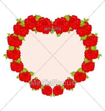 Beautiful Heart Frames In Photofunia
