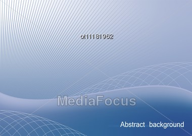 The Blue Abstract Background For Design Business Card And Invitation Company Style Stock Photo