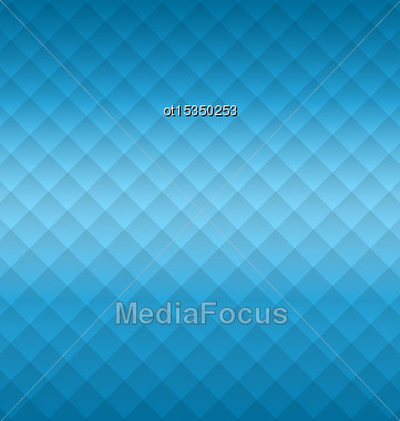 Illustration Geometric Abstract Background With Squares - Vector Stock Photo
