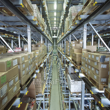 industrial warehouse stock photo 53041