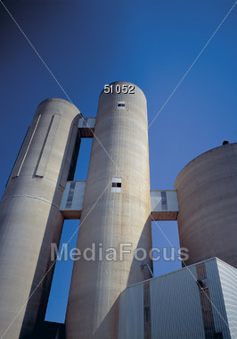 Industries Stock Photo