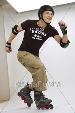 Inline Skater Stock Photo