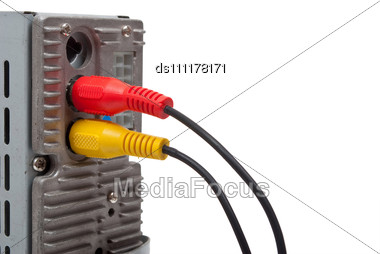Input Jack Cable Stock Photo