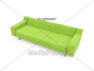 Isolated Couch Stock Photo