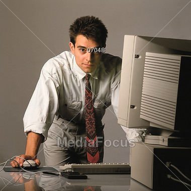 IT Professional Stock Photo