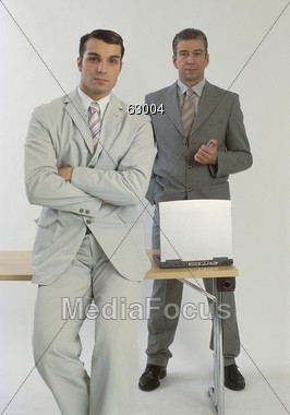 IT Professionals Stock Photo