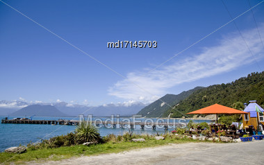 Jackson Bay New Zealand South Island West Coast Stock Photo