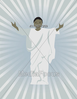 Jesus Clip Art with Outstretched Arms http://www.mediafocus.com/stock-photo-jesus-with-outstretched-arms-rl112671269.html