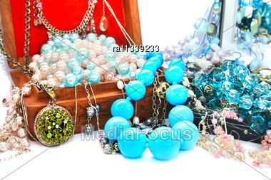 Jewelery Boxes Stock Photo