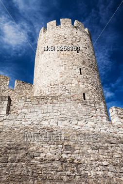 Kalemegdan - Very Old Fortress In Belgrade, Serbia Stock Photo