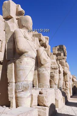 Karnak Temple Complex, Luxor, Egypt Stock Photo