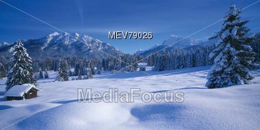 Karwendel Mountains, Werdenfels, Bavaria, Germany Stock Photo