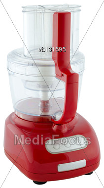 Kitchen Appliances - Food Processor, Isolated On A White Background Stock Photo