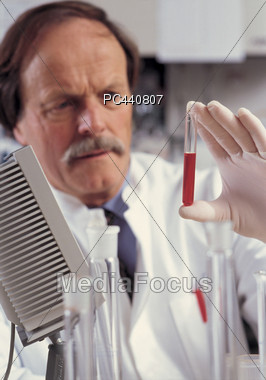 Lab Tests Stock Photo