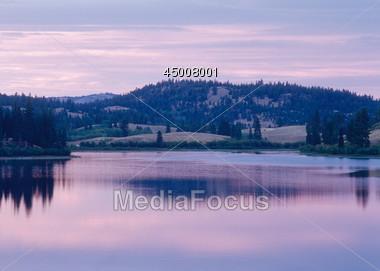 Lake - British Columbia, Canada Stock Photo