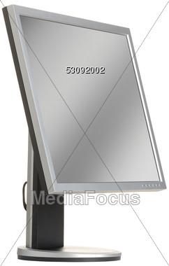 LCD Computer Monitor Stock Photo