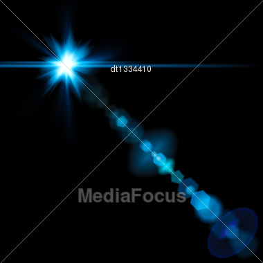Lens Flare. Abstract Lighting Backgrounds For Your Design Stock Photo
