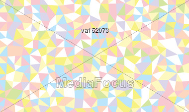 Light Colored Triangles Background Vector Illustration Stock Photo